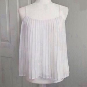 🆕✨ Charlotte Russe Top White Size XS